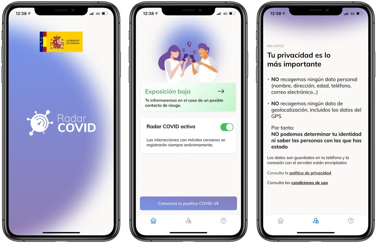 How Radar COVID works, the official contact tracing app in Spain