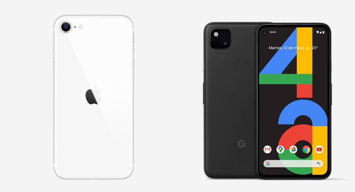 iPhone SE 2020 vs Pixel 4a