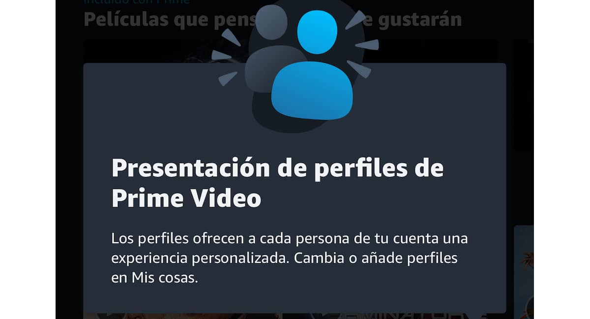 Crear perfiles en Amazon Prime Video