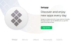Setapp iOS aplicaciones