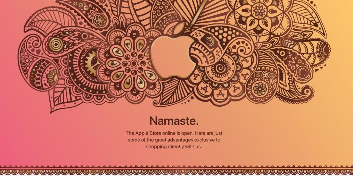 Apple abre el Apple Store Online en India