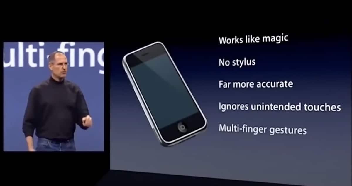 Presentación primer iPhone