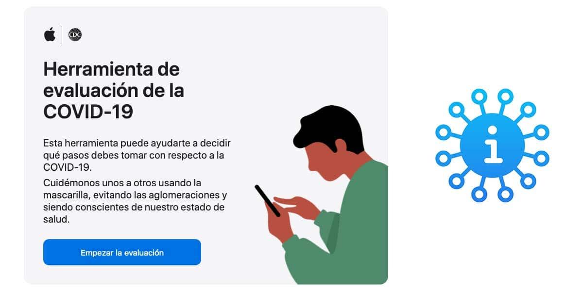 Apple COVID-19 se actualiza con nuevas preguntas y recomendaciones