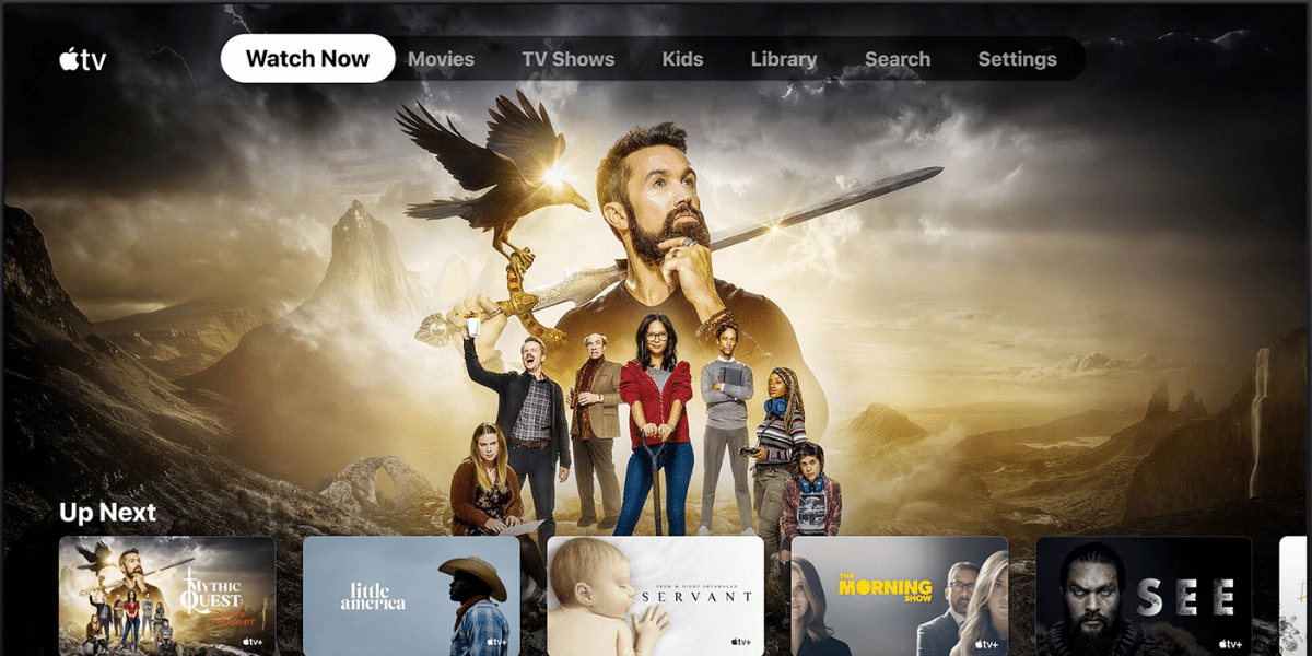 Apple TV+, el servicio audiovisual de streaming de Apple