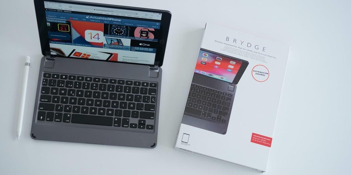 Teclado Brydge para iPad