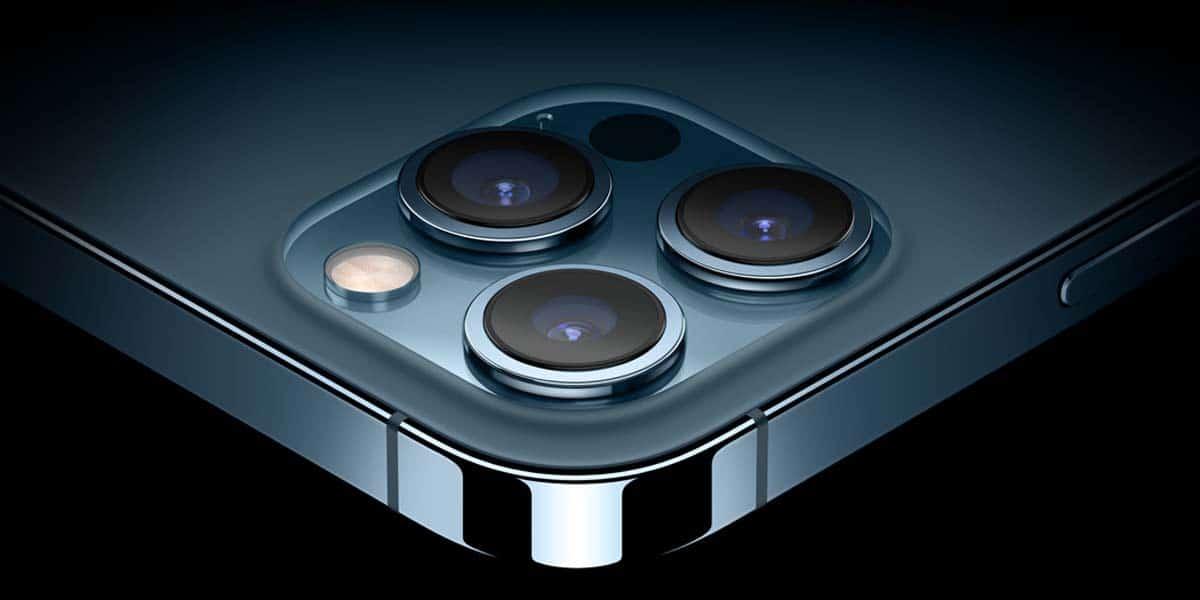 Cámaras del iPhone 12 Pro