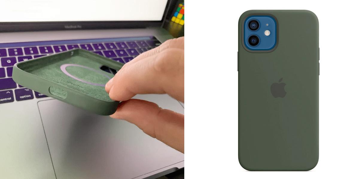 Un usuario recibe una funda MagSafe defectuosa