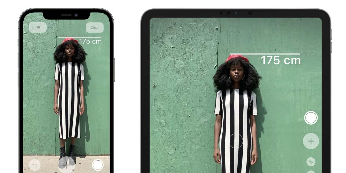 Mide a alguien con el escáner LiDAR de tu iPhone 12 o iPad Pro