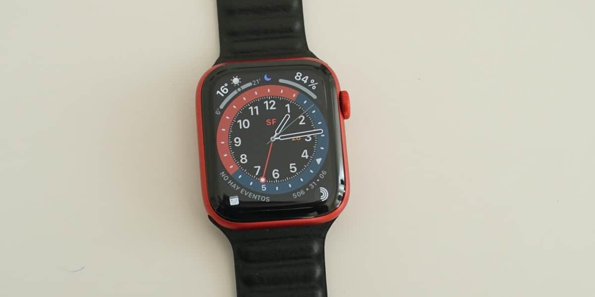Apple Watch con protector de pantalla