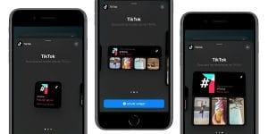 Los widgets de Tik Tok llegan a la pantalla de inicio de iOS 14