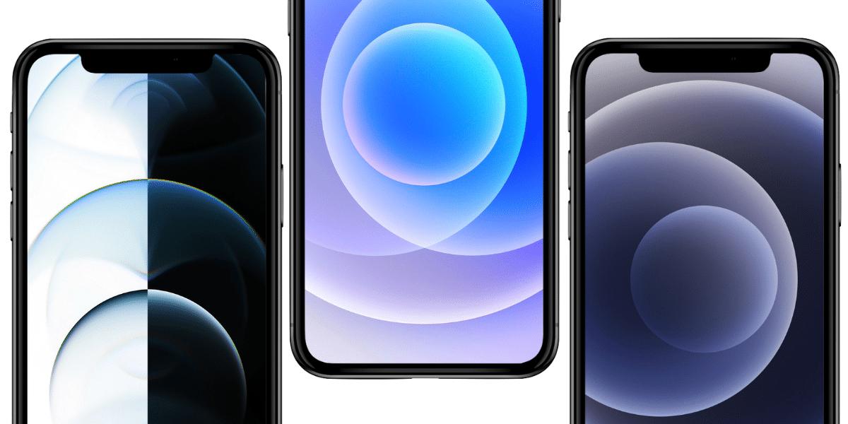 Estos son los wallpapers nuevos del iPhone 12