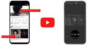 Los nuevos gestos de la actualización de Youtube para iOS