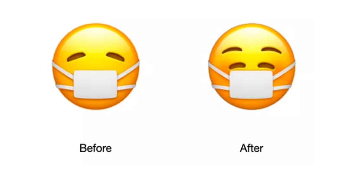 Emoji mascarilla
