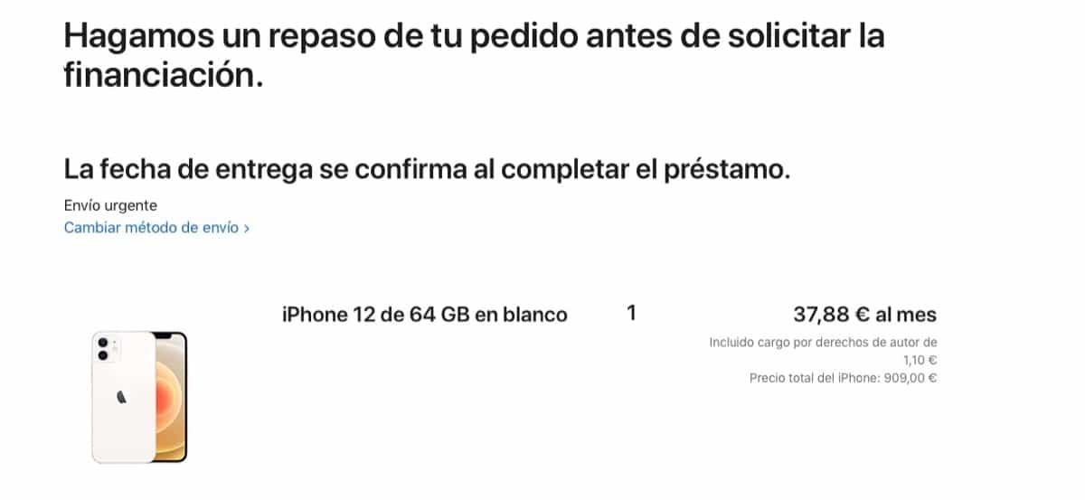 Financiación Apple™