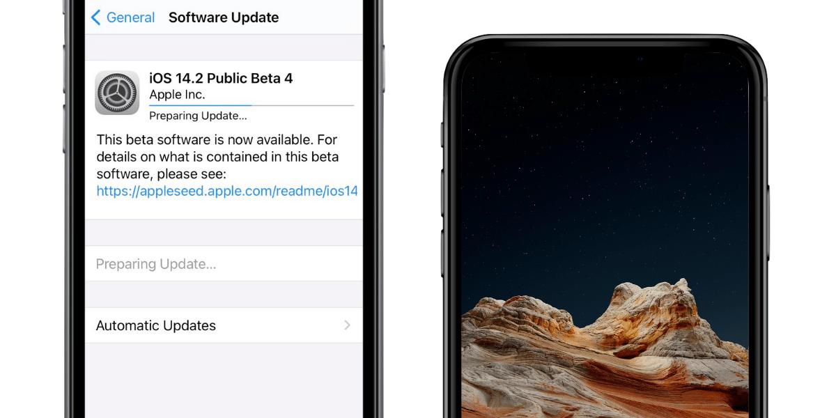 Llega la cuarta beta de iOS 14.2 y iPadOS 14.2