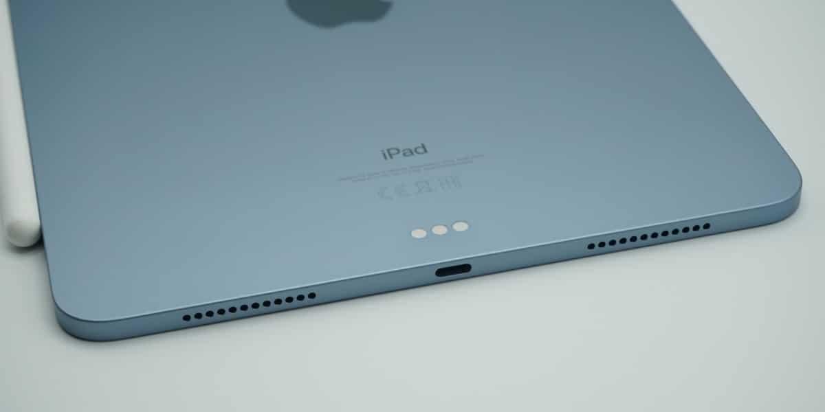 USB C en el iPad Air