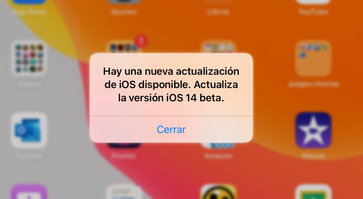 Actualización iOS 14 Beta