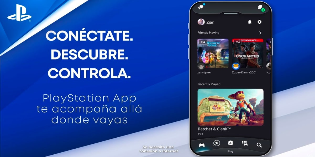 Disponible la nueva PlayStation App preparada para la PS5
