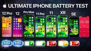 Test de batería iPhone 12 vs iPhone 11