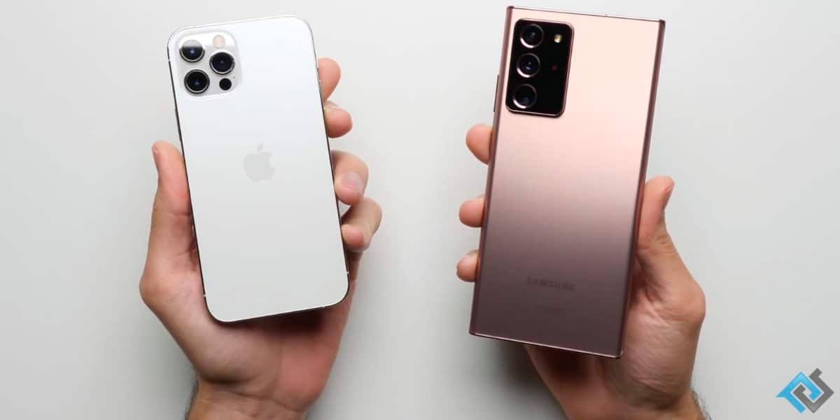 Iphone 12 Pro vs Note 20