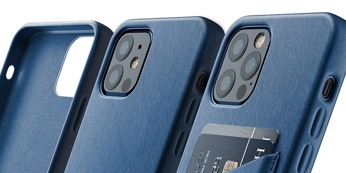 Fundas de cuero para el iPhone 12 de Mujjo