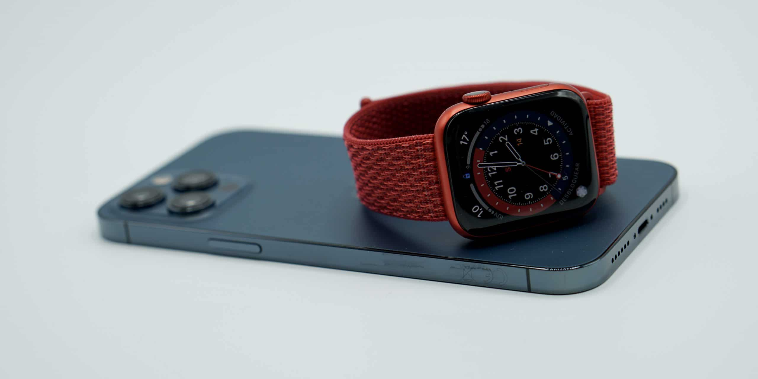 iPhone doce Pro Max y Apple™ Watch Series 6