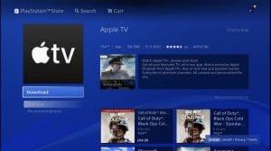 Apple TV en PlayStation