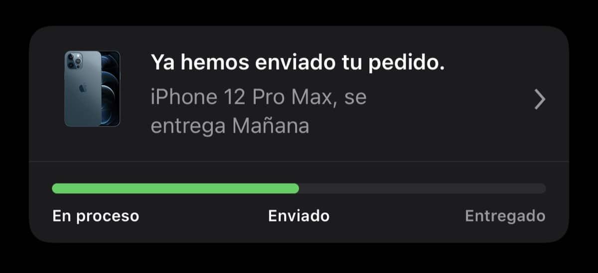 Envio iPhone 12