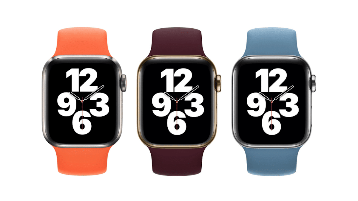 Colores correas Apple Watch