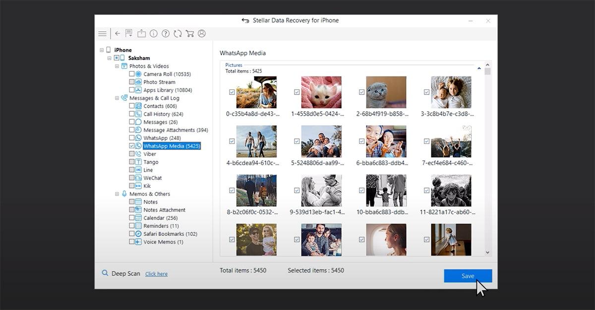 Archivos borrados en el iPhone