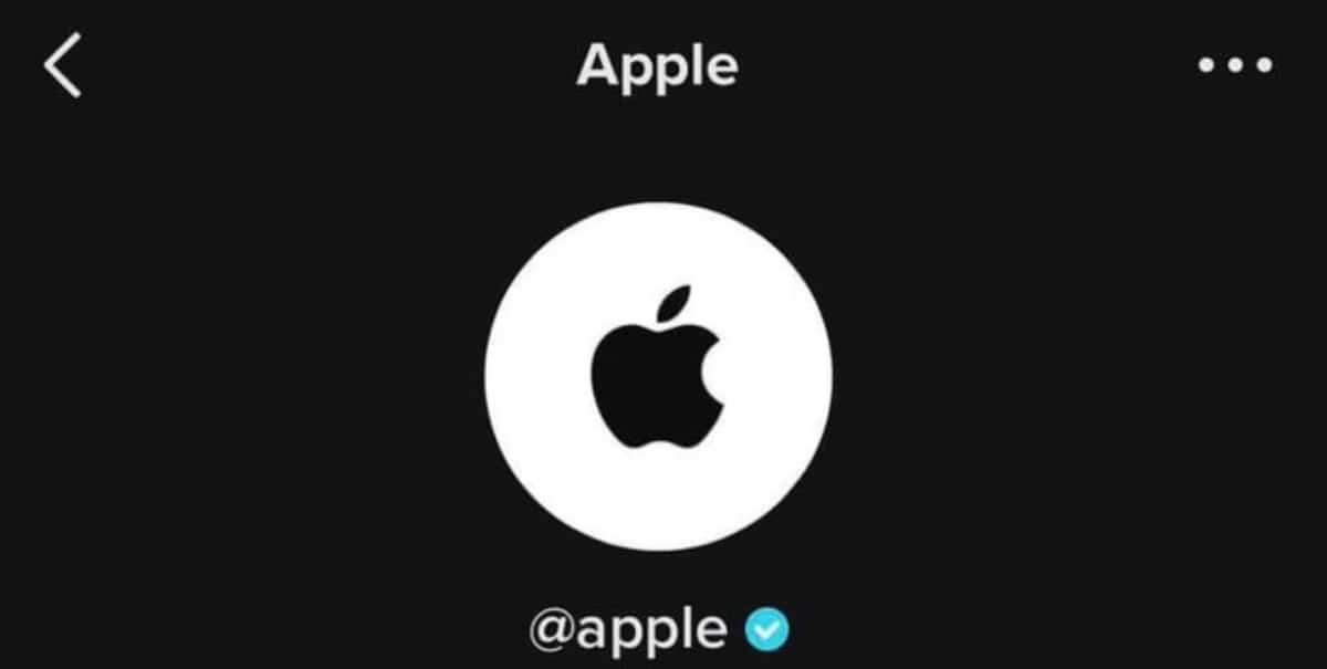 Apple en Tiktok