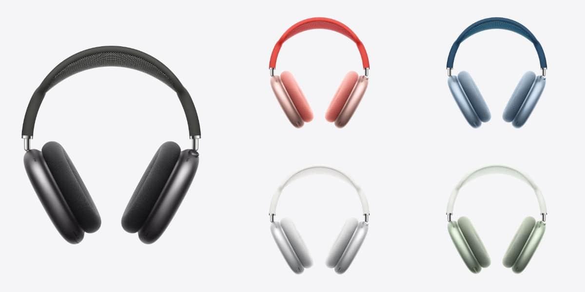 Apple anuncia los AirPods Max, sus auriculares premium por 629€