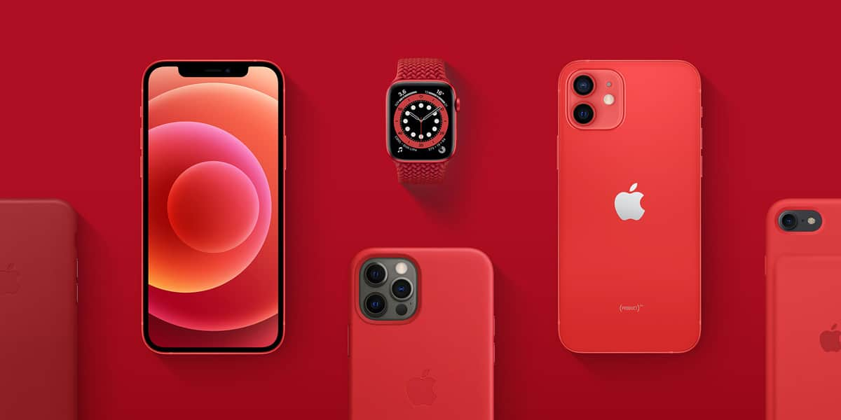 PRODUCT(RED) de Apple donará todos sus beneficios al Fondo Mundial contra la COVID-19