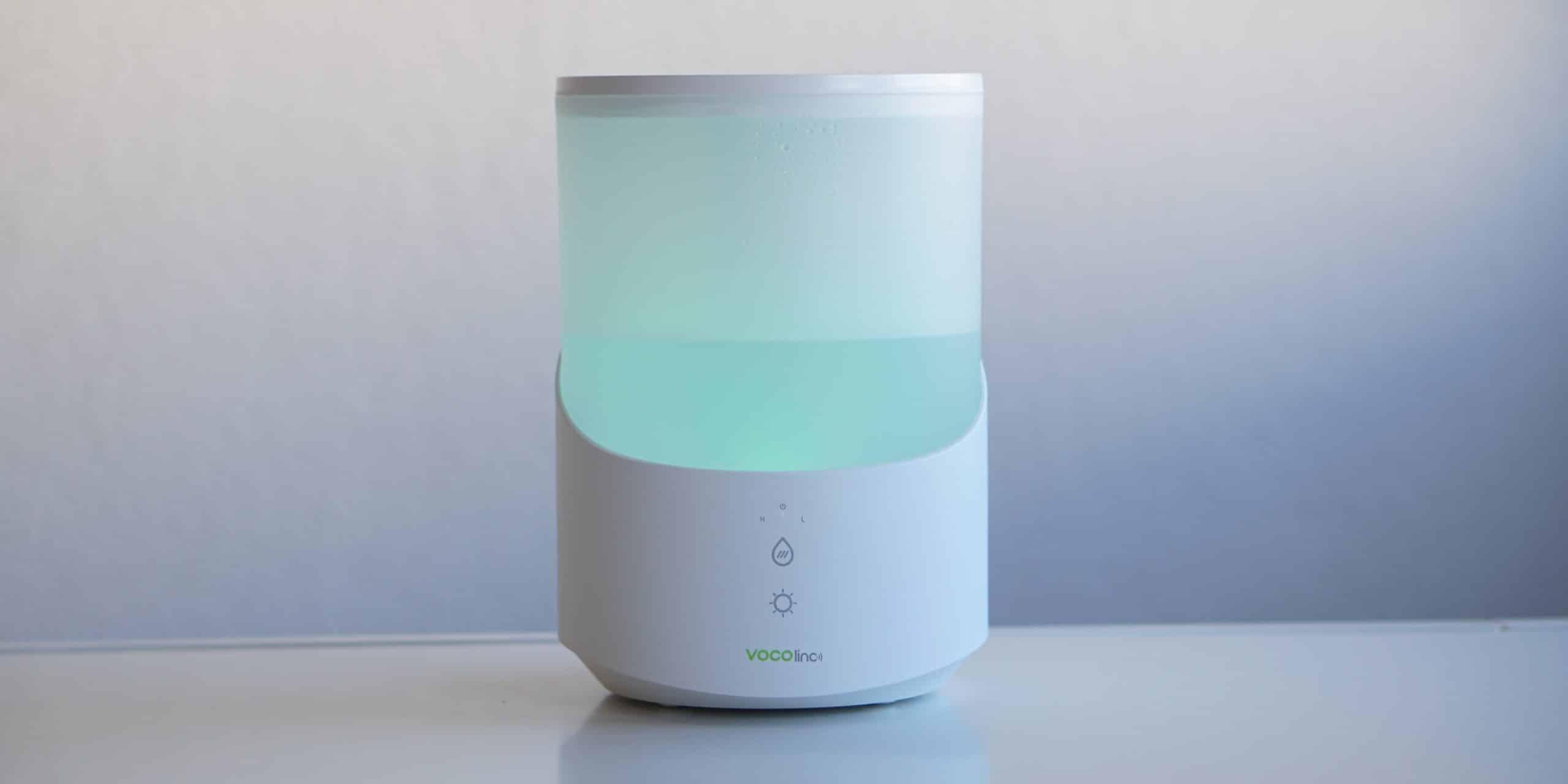 VOCOlinc MistFlow, humidificador y ambientador compatible con HomeKit