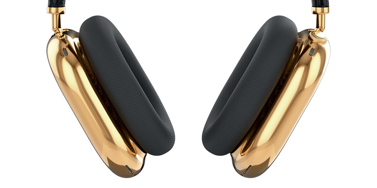 AirPods Max Gold de Caviar