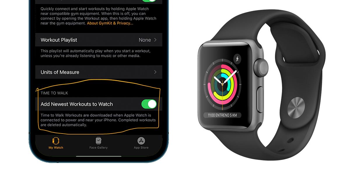Apple podría lanzar entrenamientos de caminatas guiados