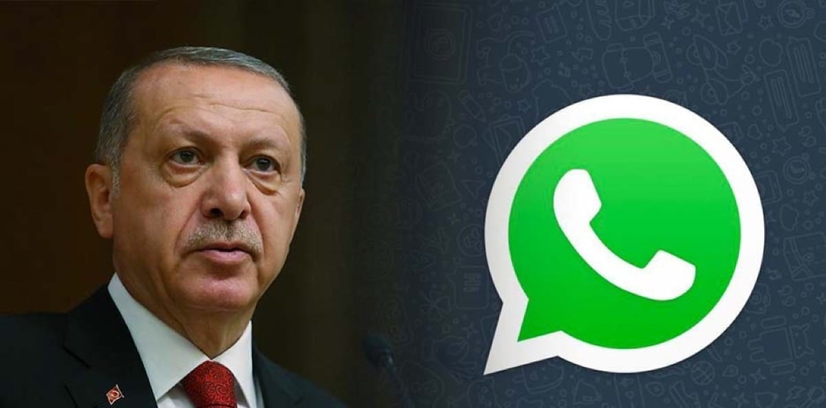 Erdogan WhatsApp