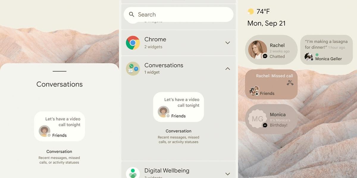 Android 12 con novedades parecidas a iOS 14
