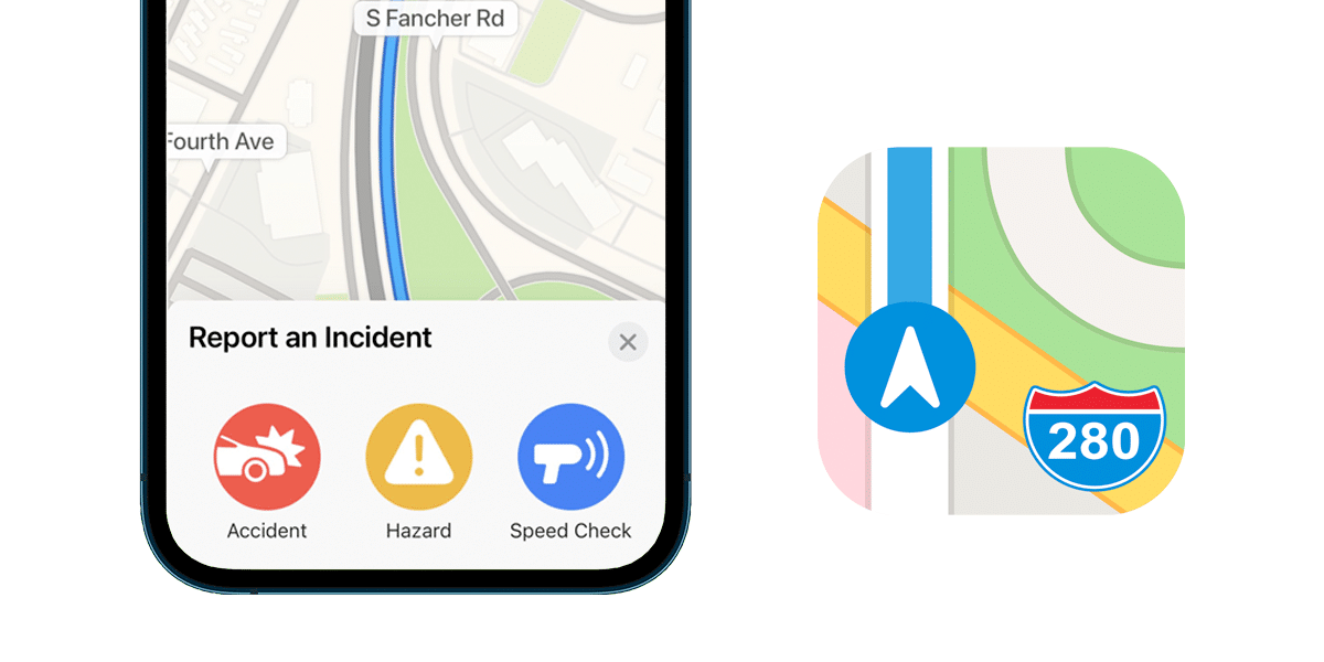 Apple Maps con novedades en iOS 14.5 beta