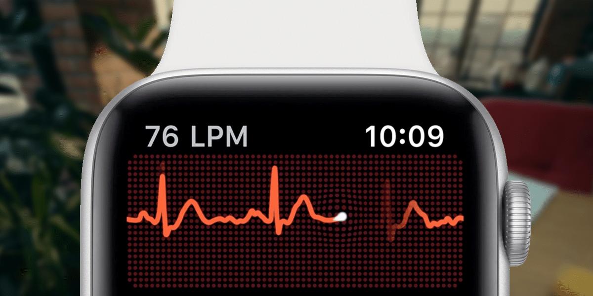 ECG en el Apple Watch Series 6