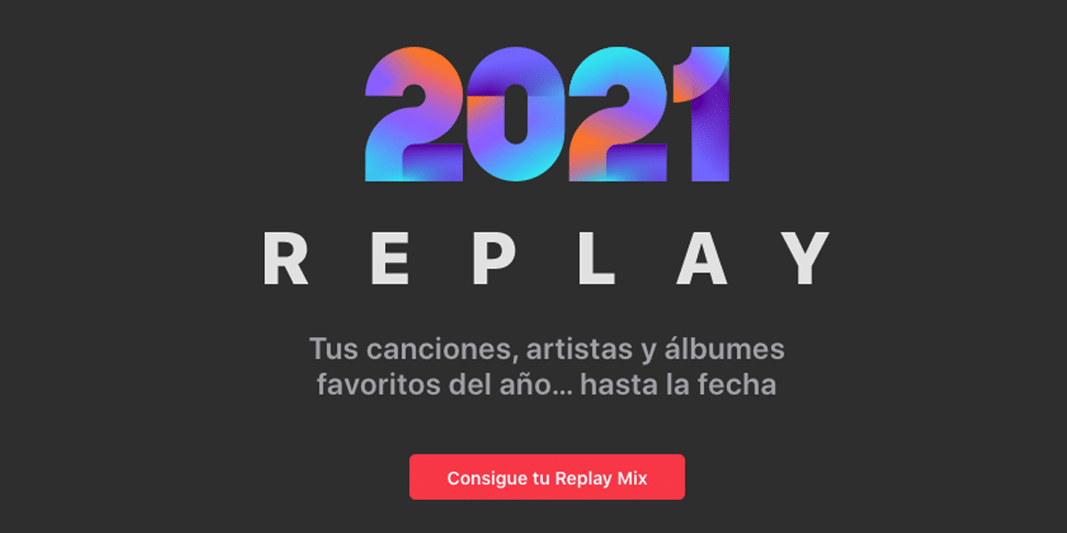 Replay 2021 de Apple Music