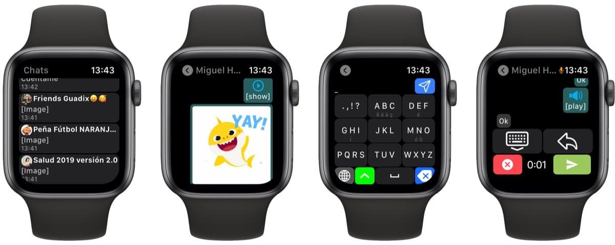 WhatsApp para Apple Watch