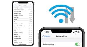 Ahorrar datos móviles iPhone