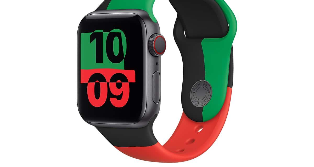 Apple Watch Black Unity