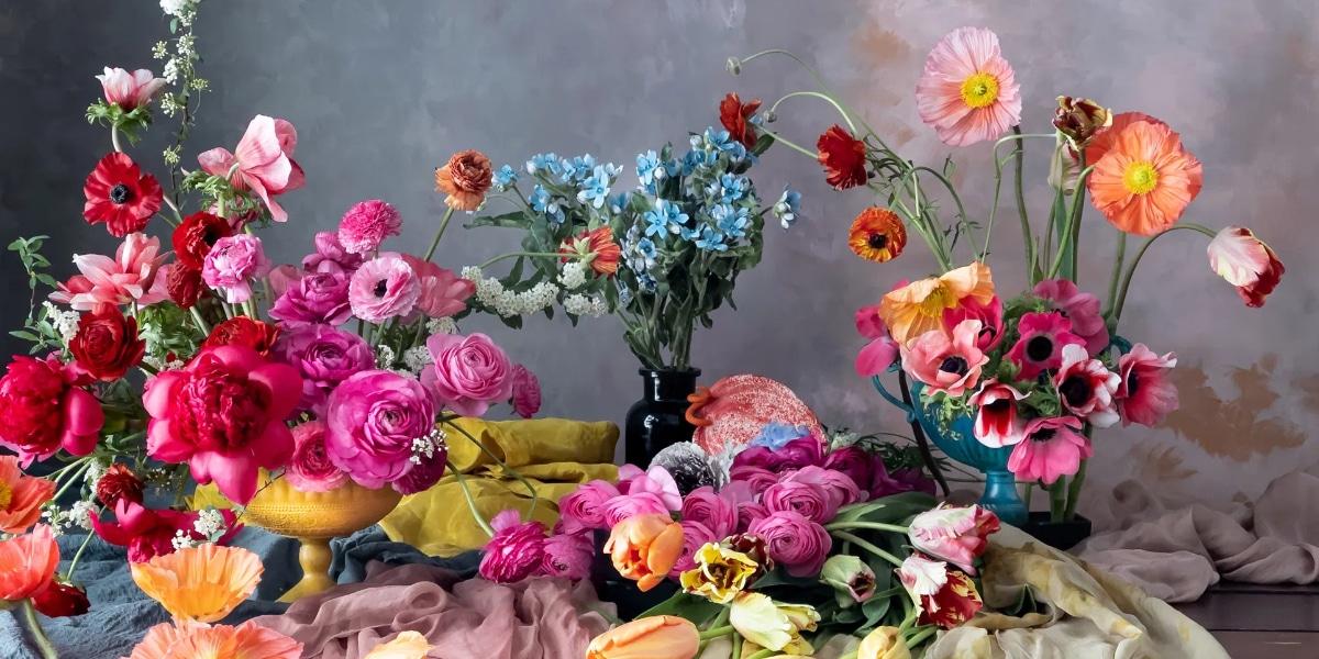 Flores con iPhone 12 Pro