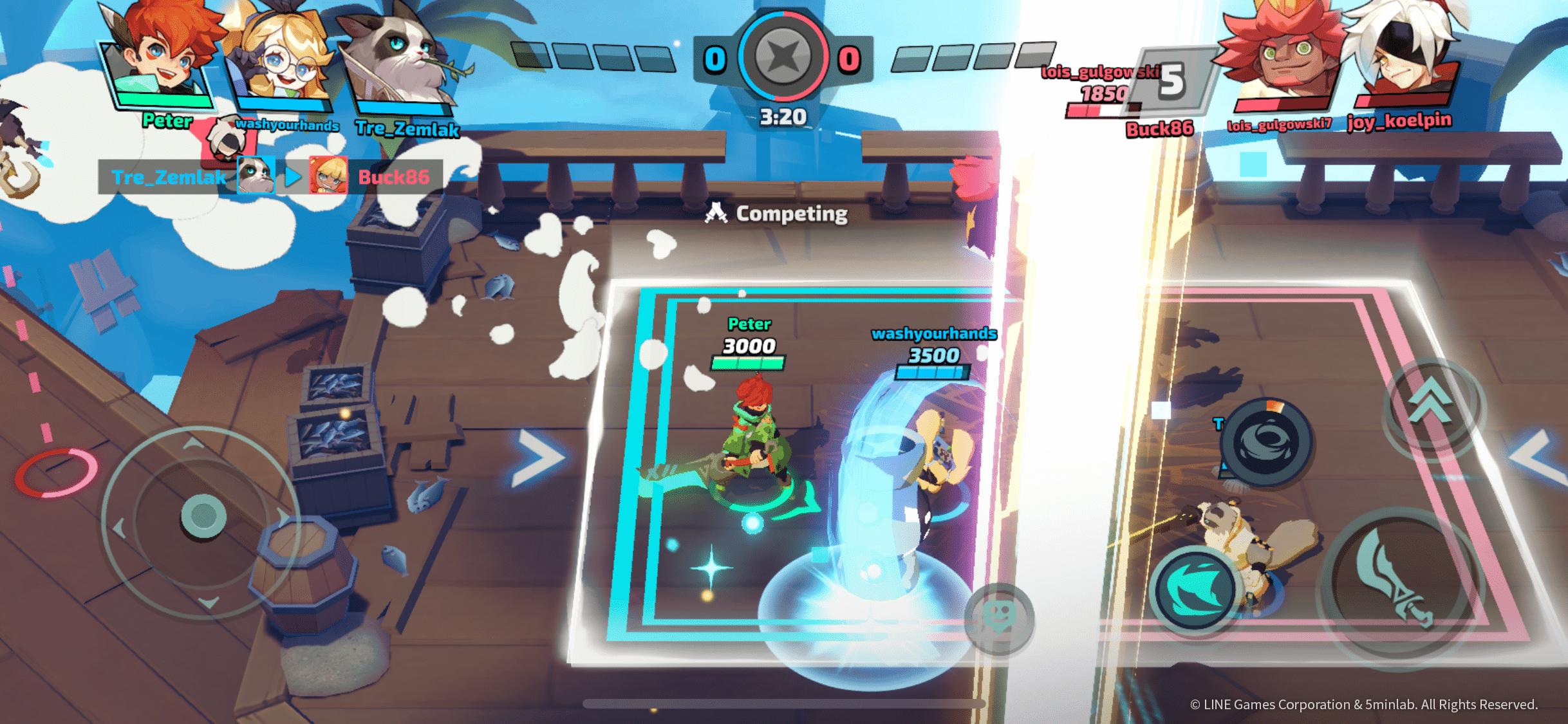 Smash Legends batallas