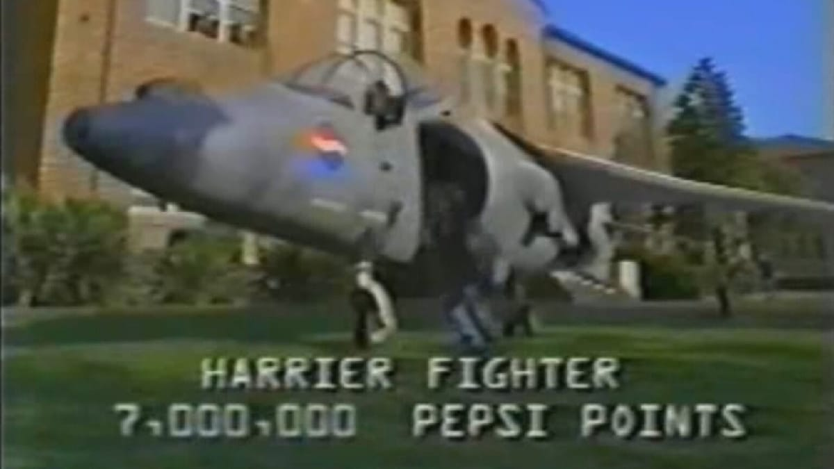 anuncio Pepsi Jets documental