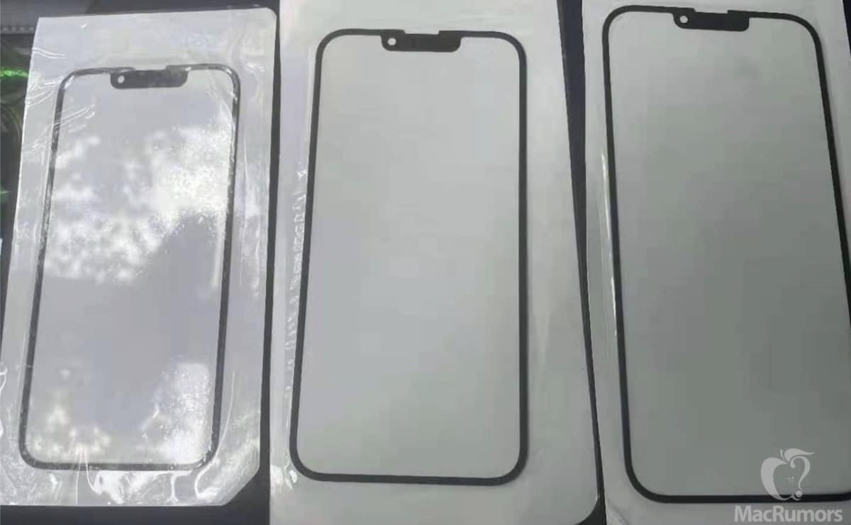 Cristal iPhone notch pequeño
