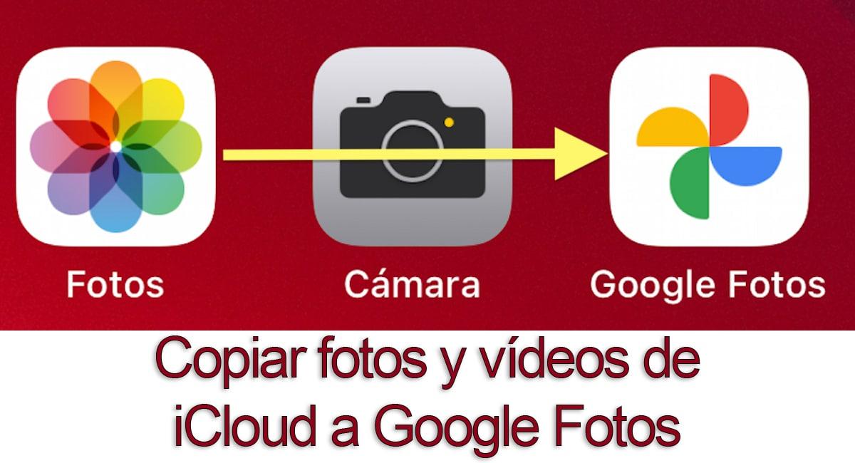 De iCloud a Google Fotos