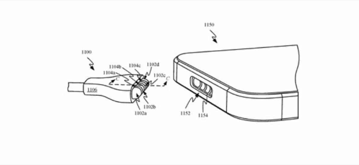 Patente puerto MagSafe